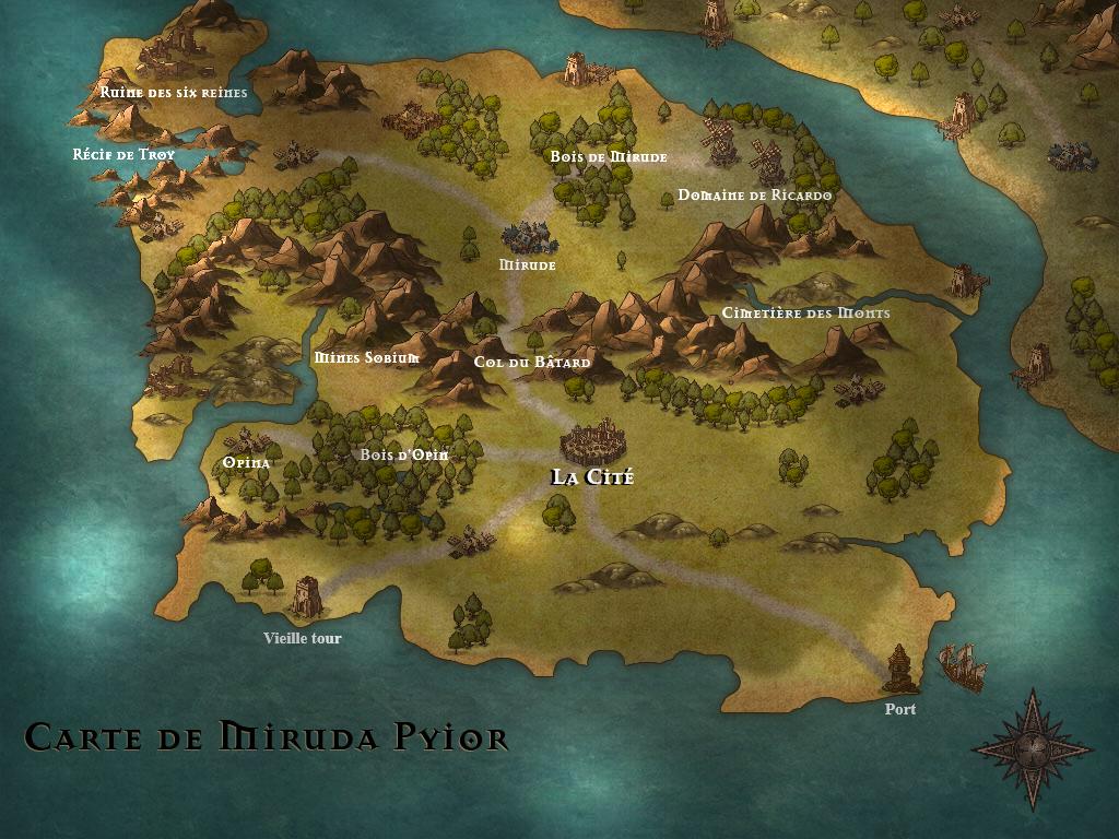 Miruda : Les Pierres de Ruulna Mirudapyior